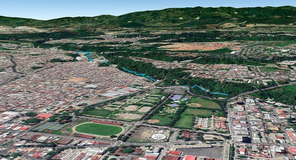 Cuenca del río Negro en Ciudad de Guatemala