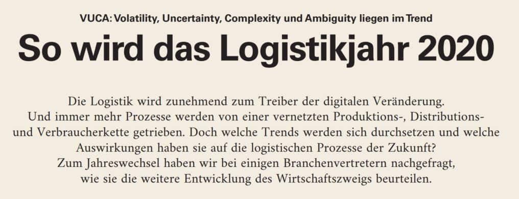 Logistikkahr 2020