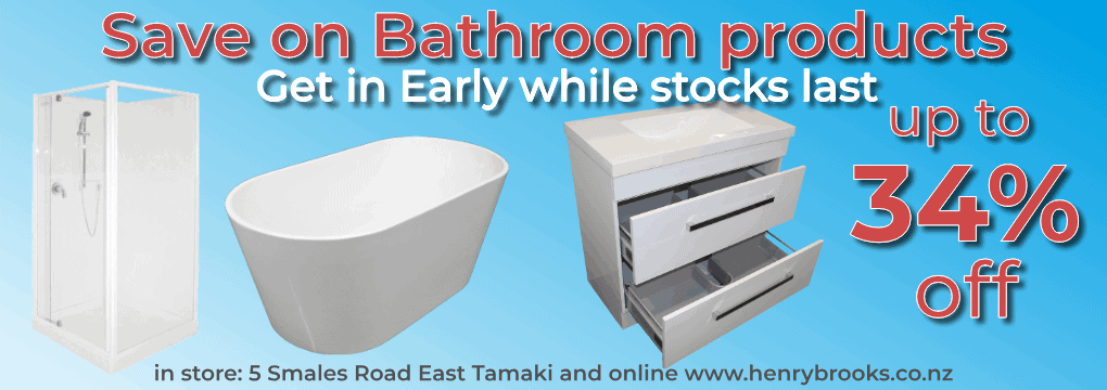 Bathroom Sale Nov - Dec 2020