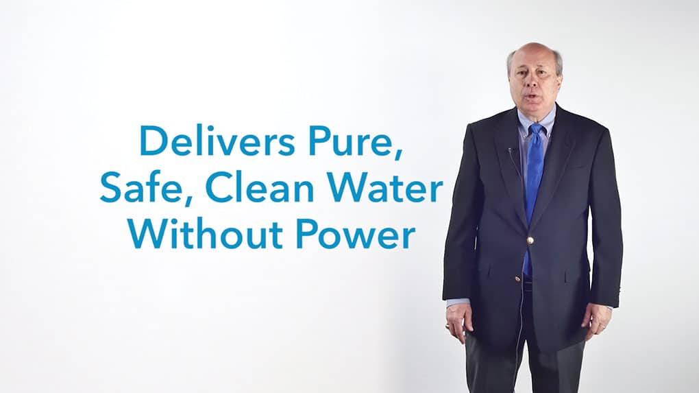 This new purification method delivers pure, safe water without power.