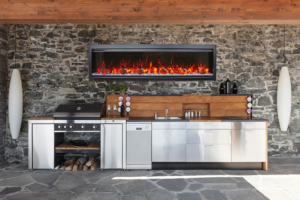 Amantii Sym Bespoke Electric Fireplaces Canada