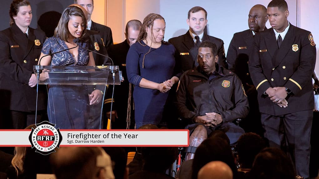 At this annual breakfast event, Atlanta firefighters and first responders are recognized.