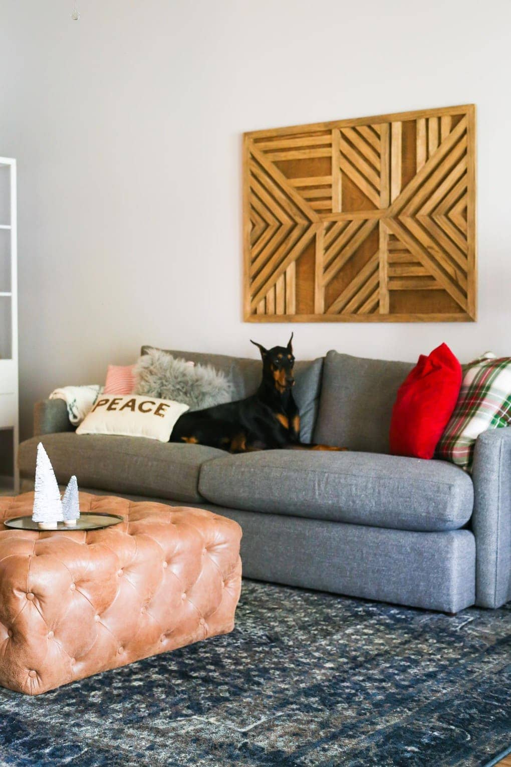 Our Big Comfy Couch A Crate Barrel Lounge Ii Sofa Review