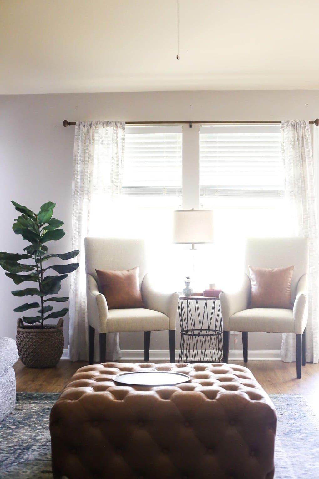 Small Living Room Refresh With Bassett S Modern Collection