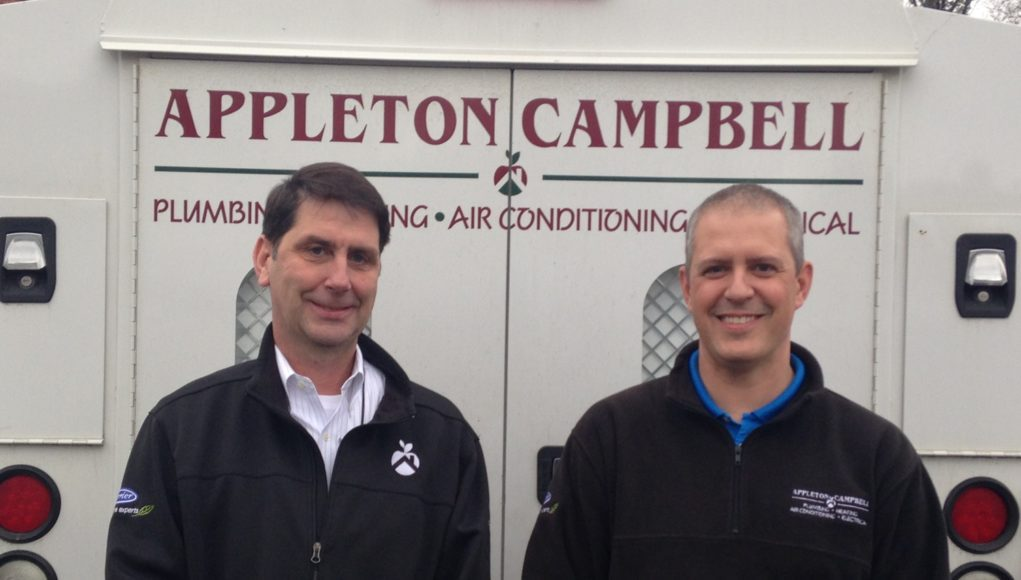 Scott Wayland, Vice President and Jason Anderson, Service Manager