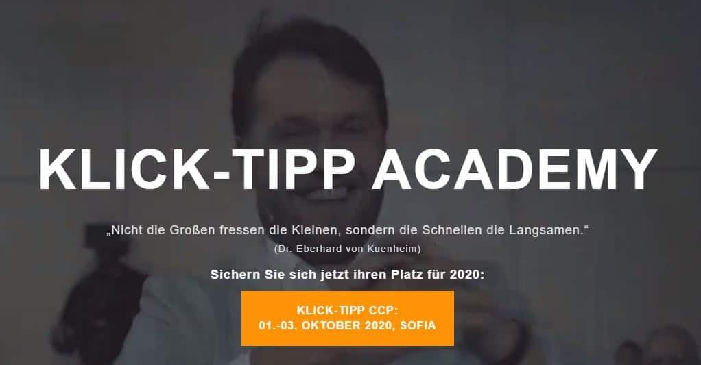 klick tipp academy preview