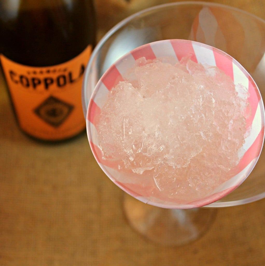 Chardonnay Pink Grapefruit Snow Cone