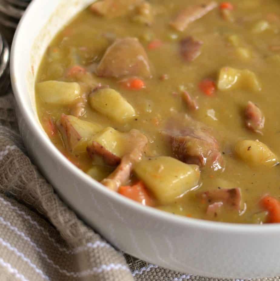 Delectable Split Pea Soup Recipe