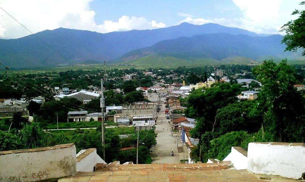 Vista de Salamá desde El Calvario