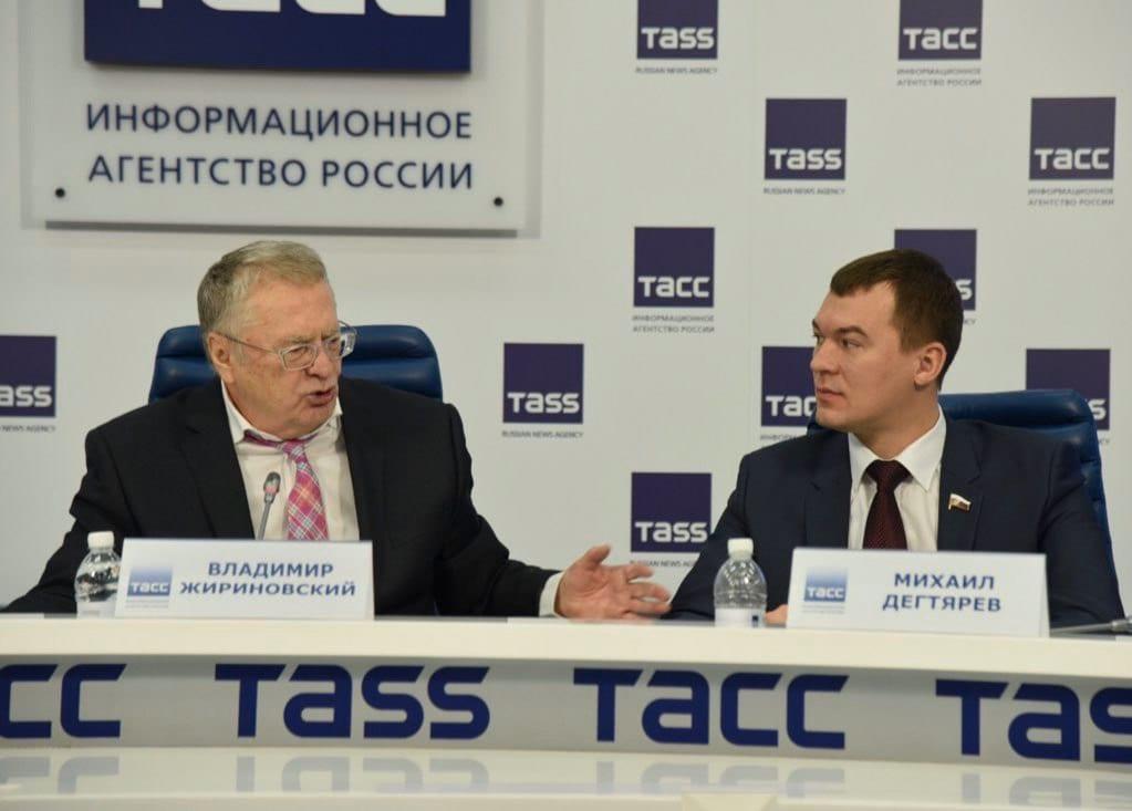 В.Жириновский и М.Дегтярев
