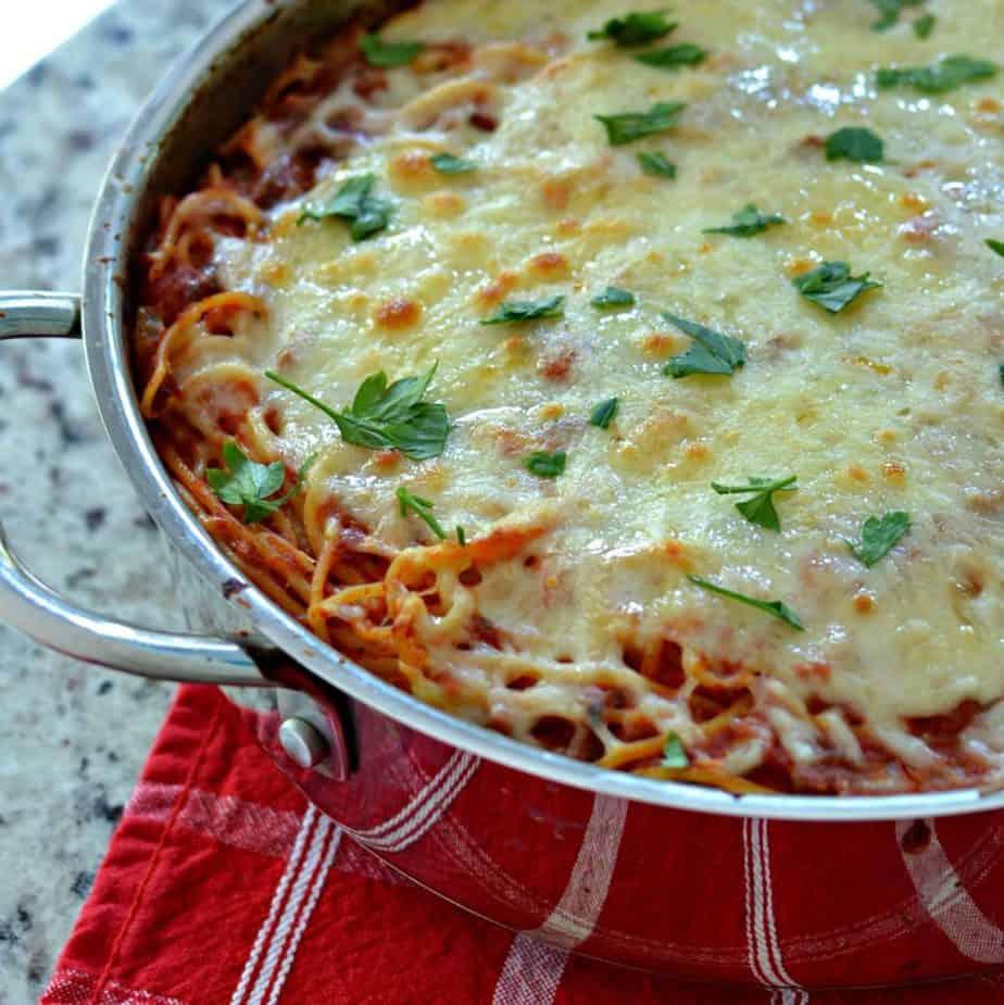 Scrumptious Baked Spaghetti Recipe