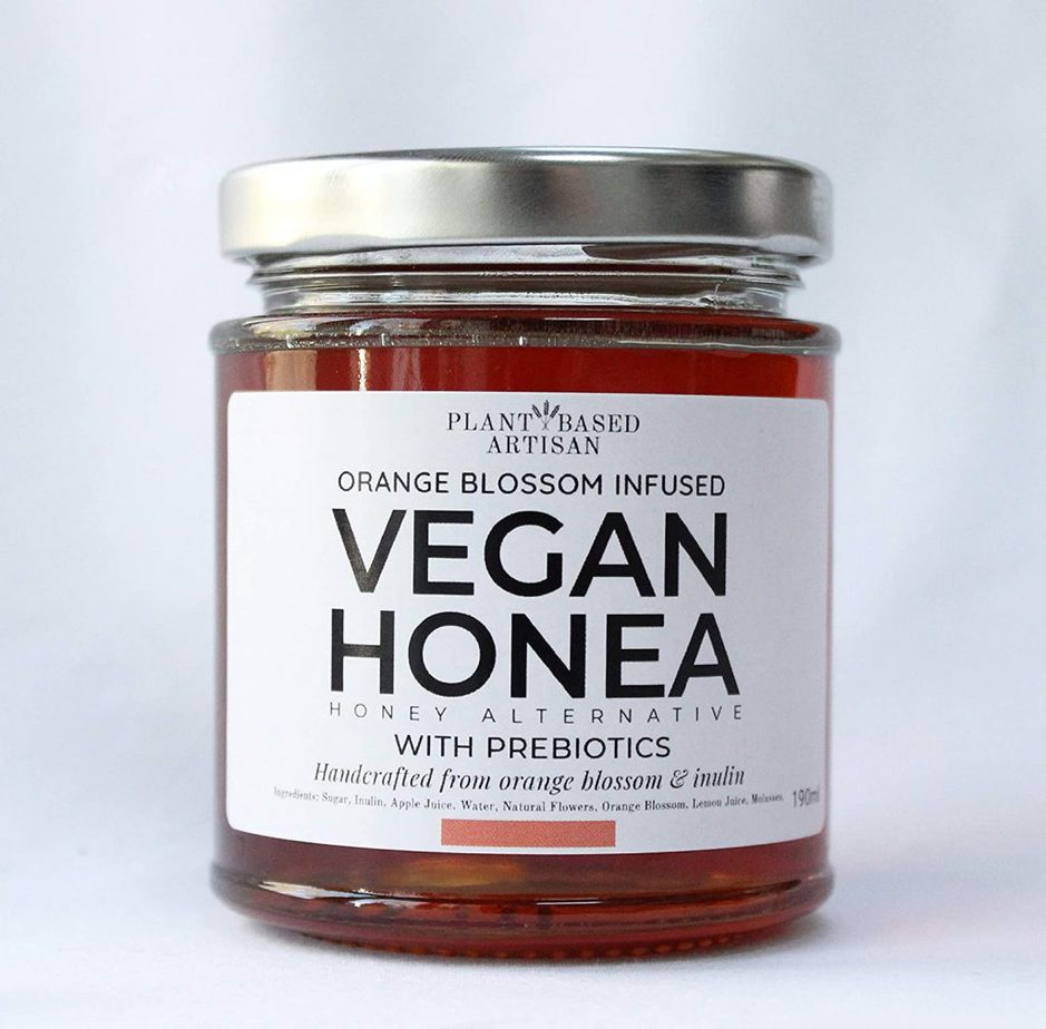 A jar of Vegan Honey by Vegan Honea