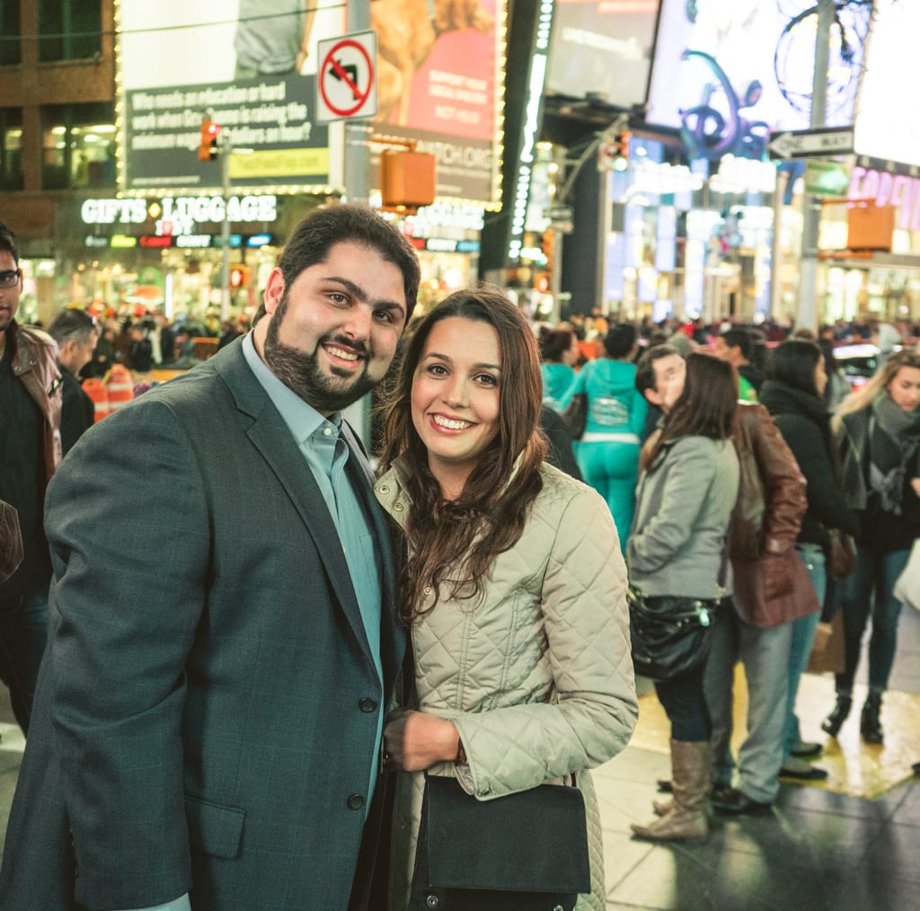 Photo 11 Times Square Marriage proposal New York City | VladLeto