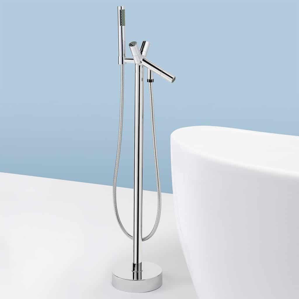 AKDY Freestand Floor Mounted AZ8711A Clawfoot Bathtub Faucet