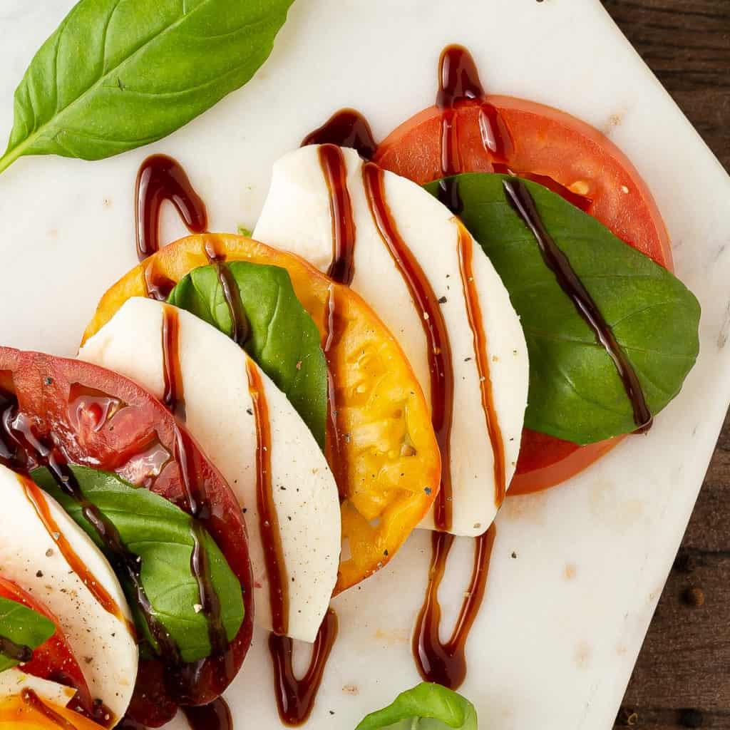 balsamic glaze for caprese salad