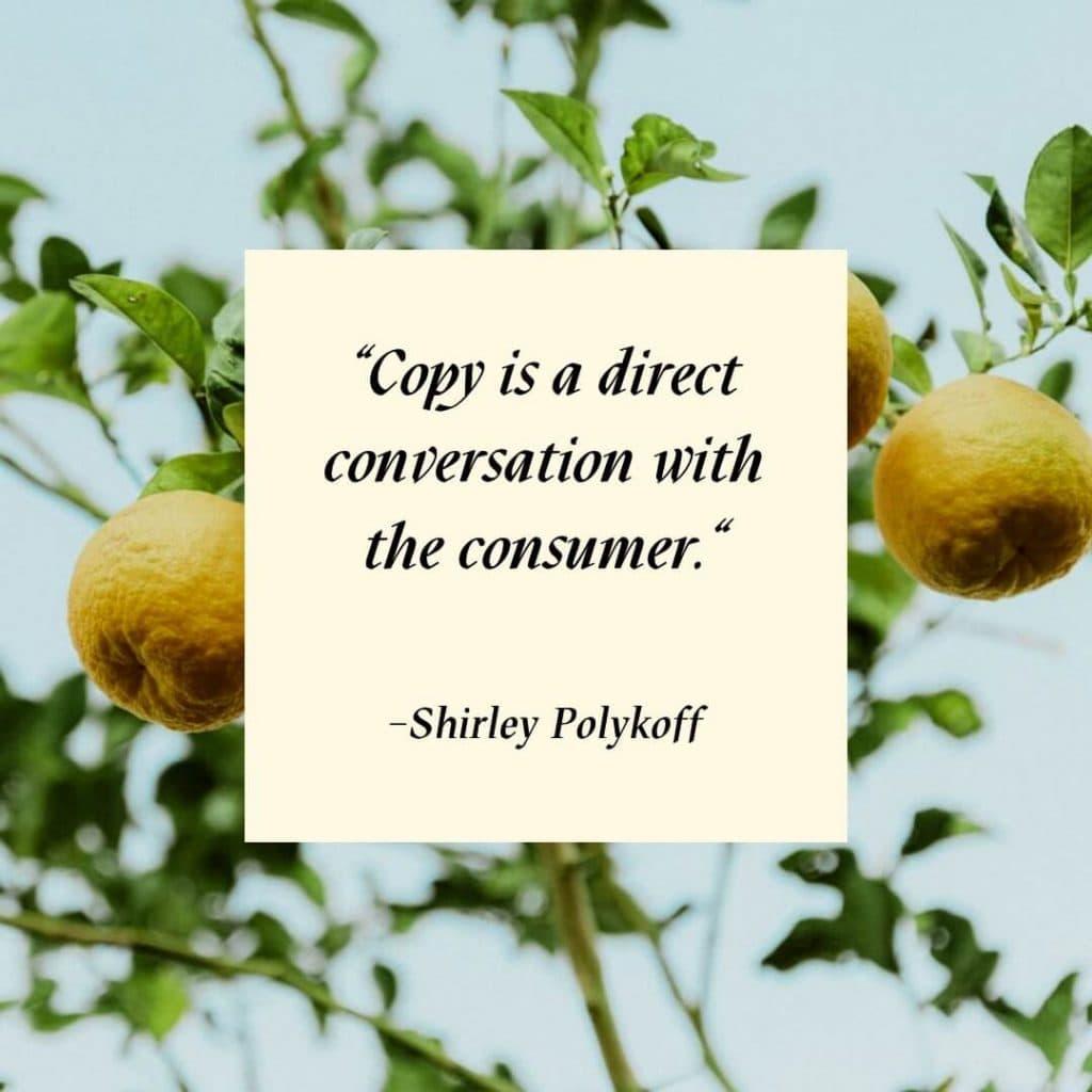 Consumer Marketing Quote