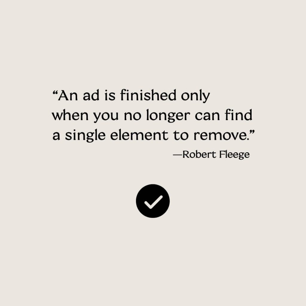 marketing ad quotation