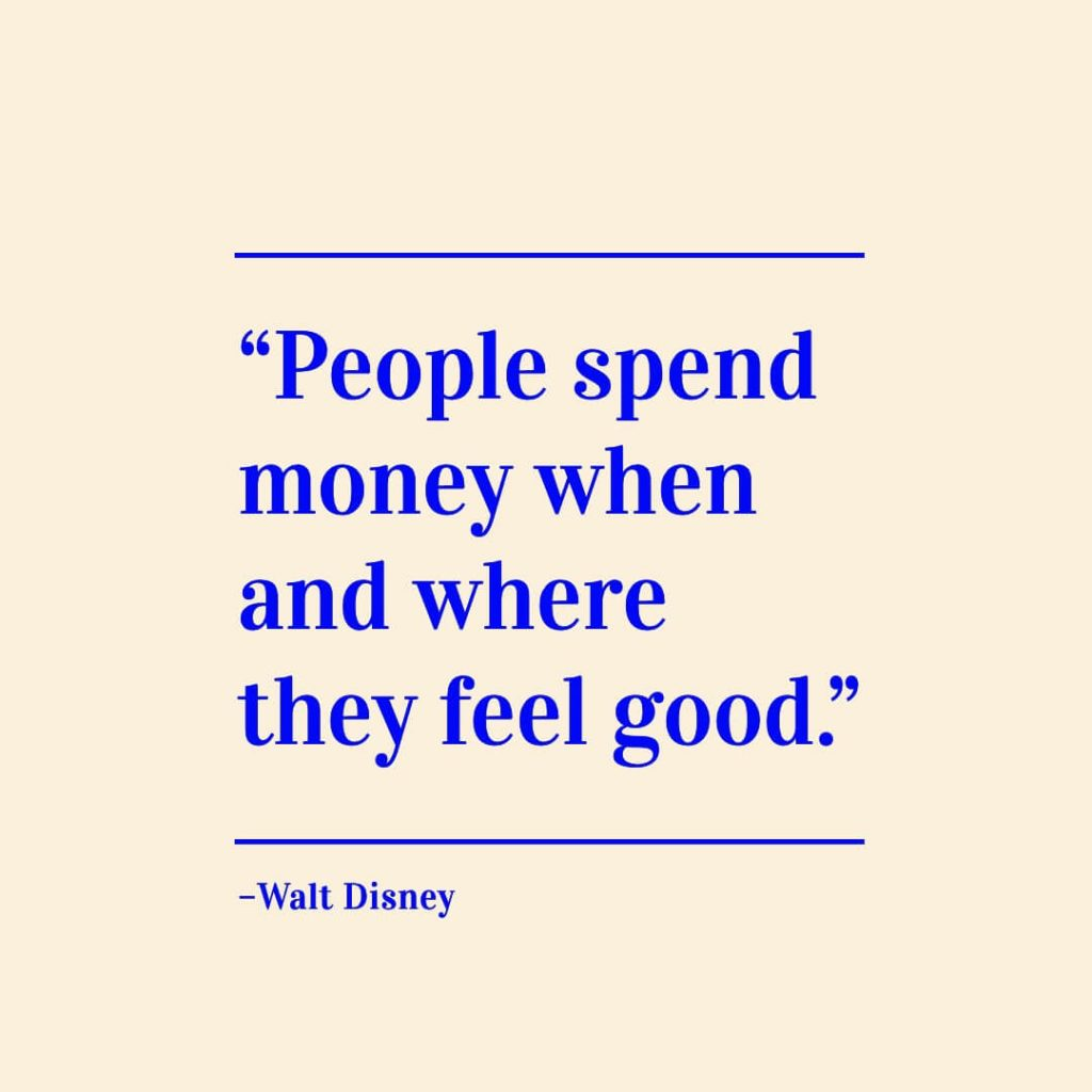 walt disney marketing quote