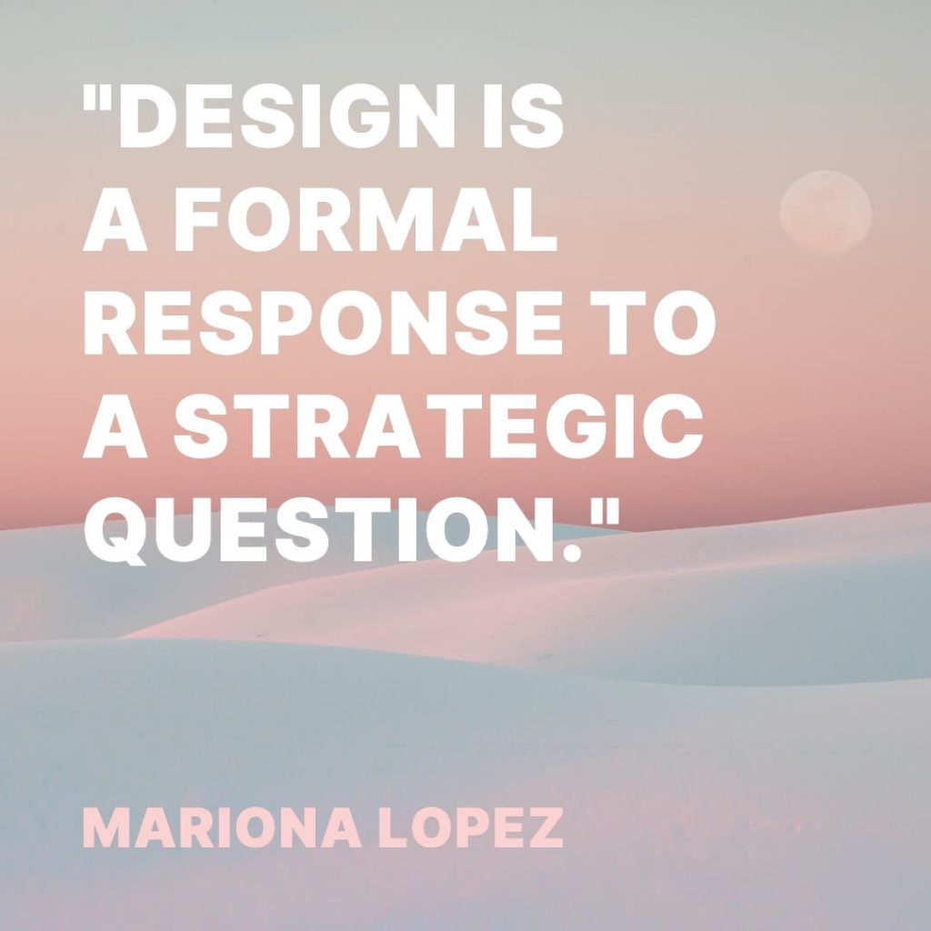 quote about graphic design