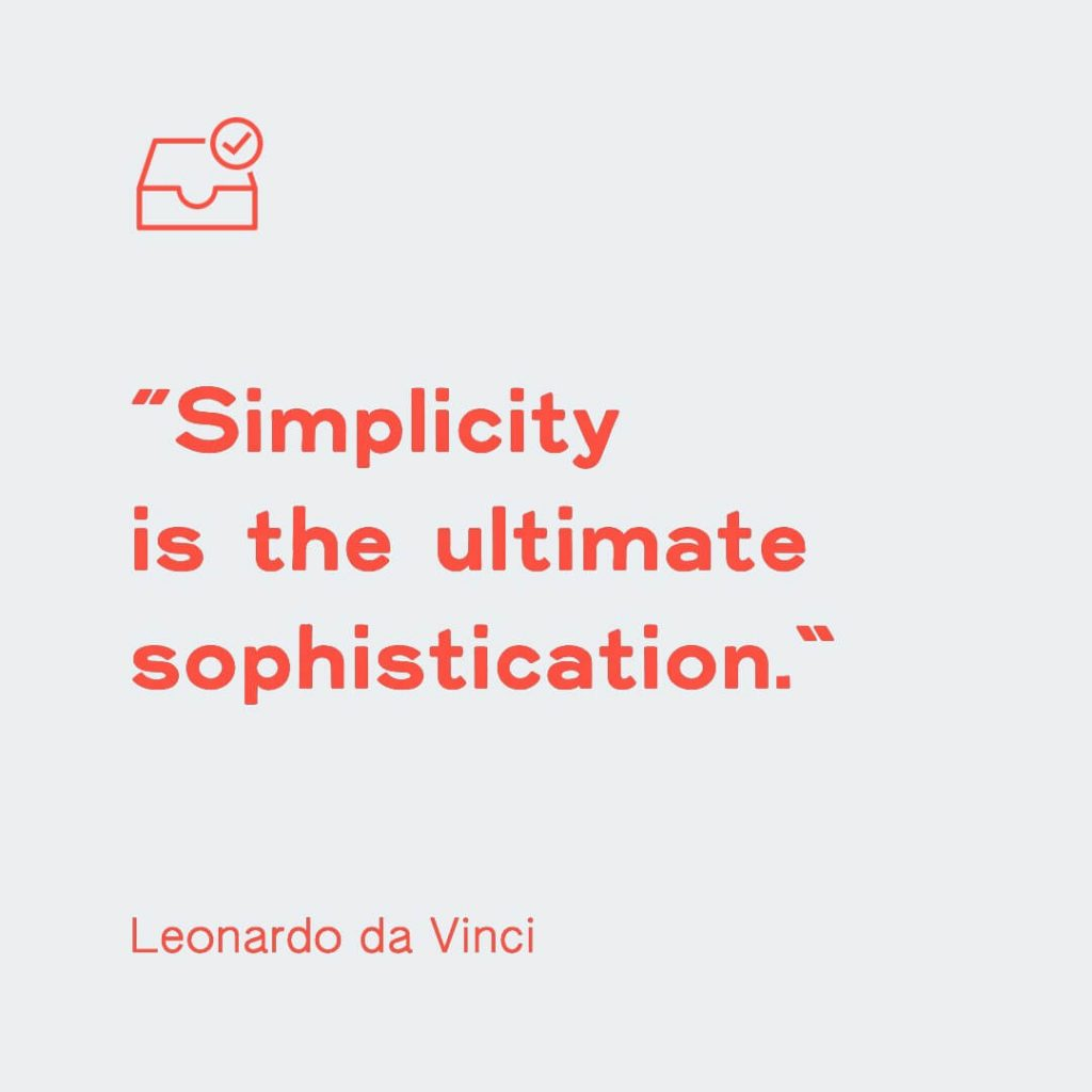design quote by leonardo da vinci