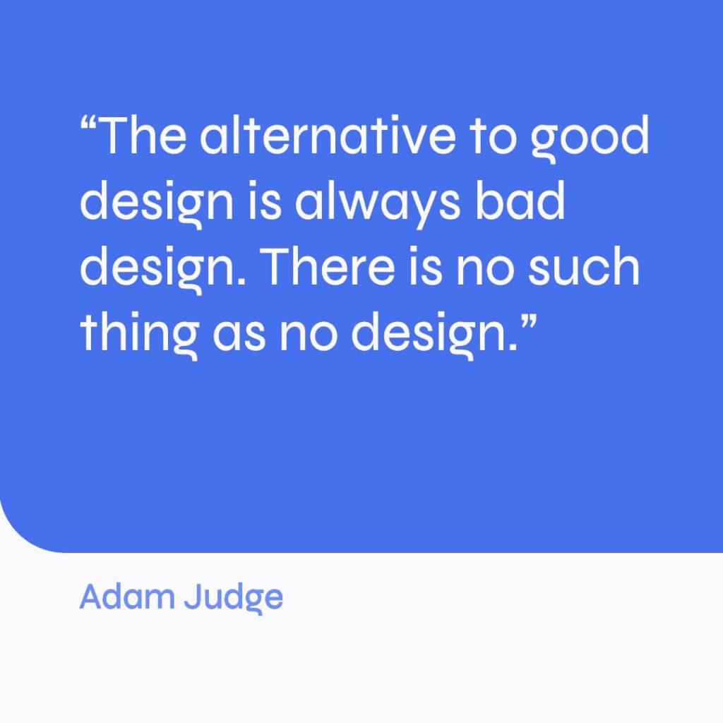 inspirational design quote