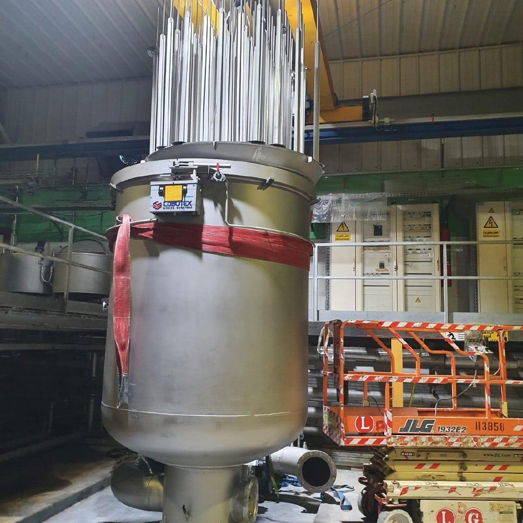 New yarn dyeing machine 1000 kg