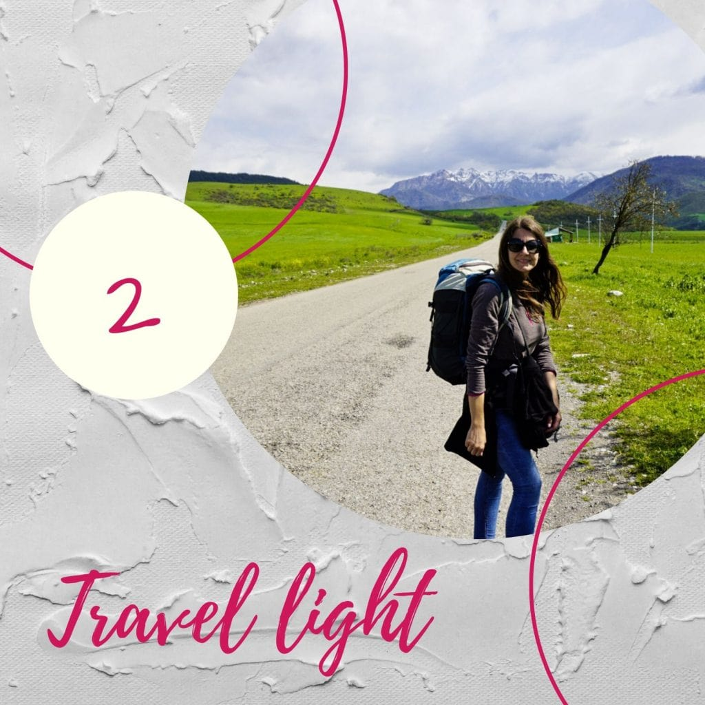 Travel light- Experiencing the Globe