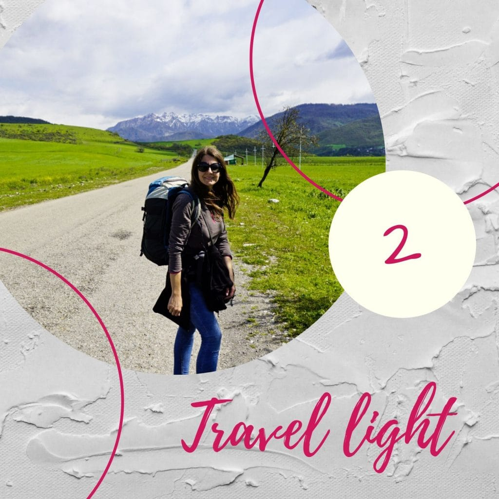 Travel light - Experiencing the Globe