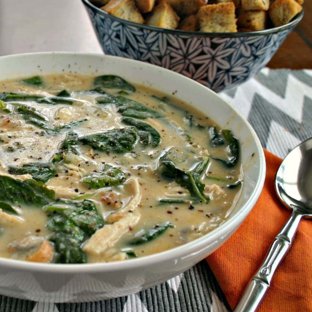 Chicken Florentine Soup | Life, Love, and Good Food