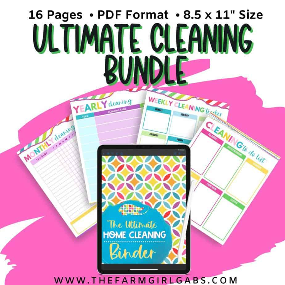 The Ultimate cleaning Binder