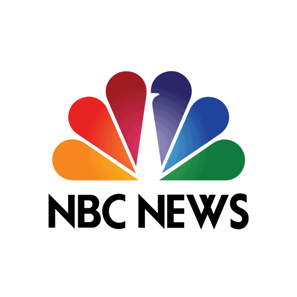 NBC News Logo link to an article featuring Dr. Pia Lieb on NBC