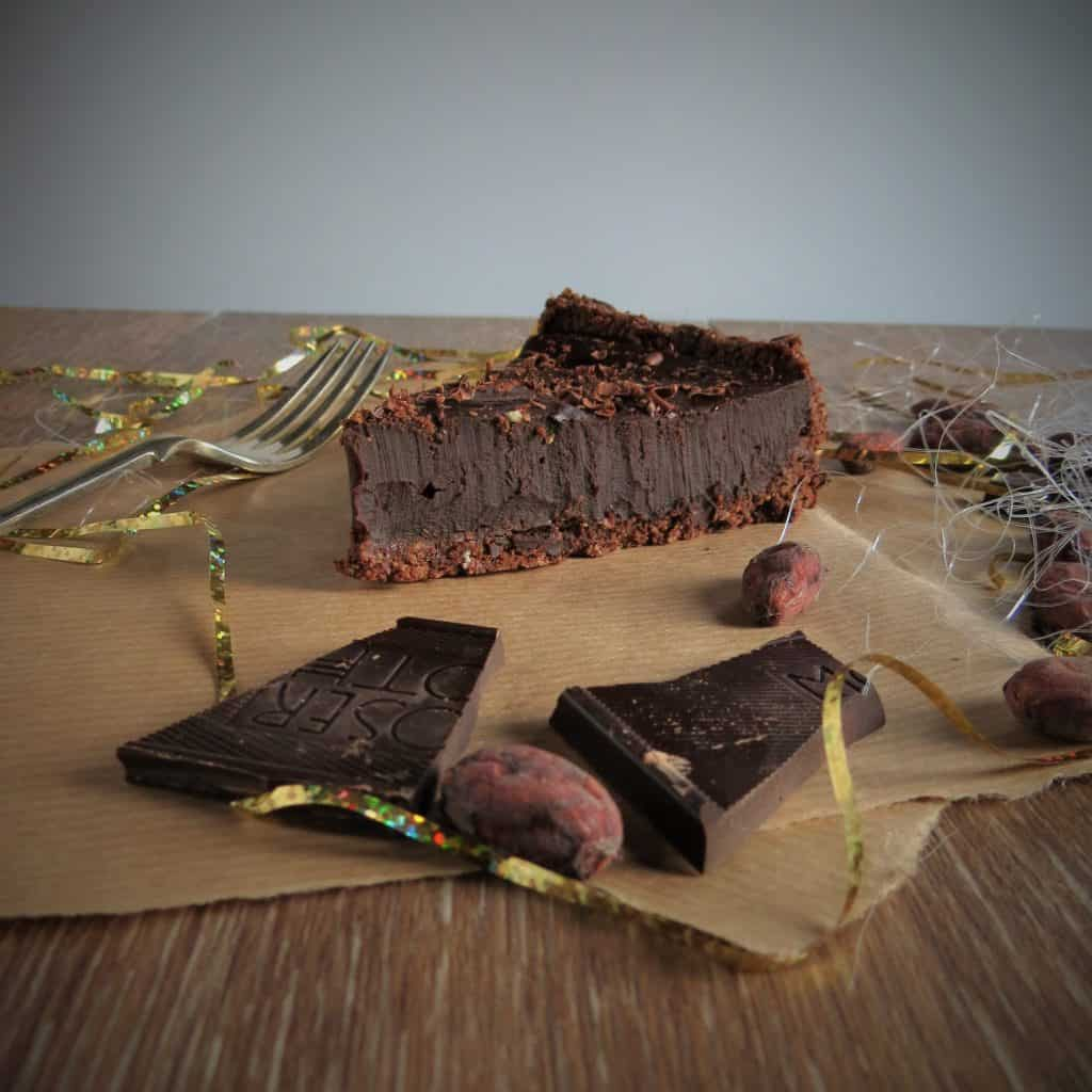 Gluten Free Salted Chocolate Tart