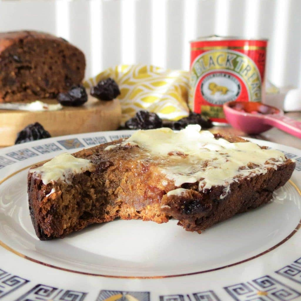 Gluten Free Homemade Malt Loaf, made with my malt substitute paste perfect for National Picnic Week