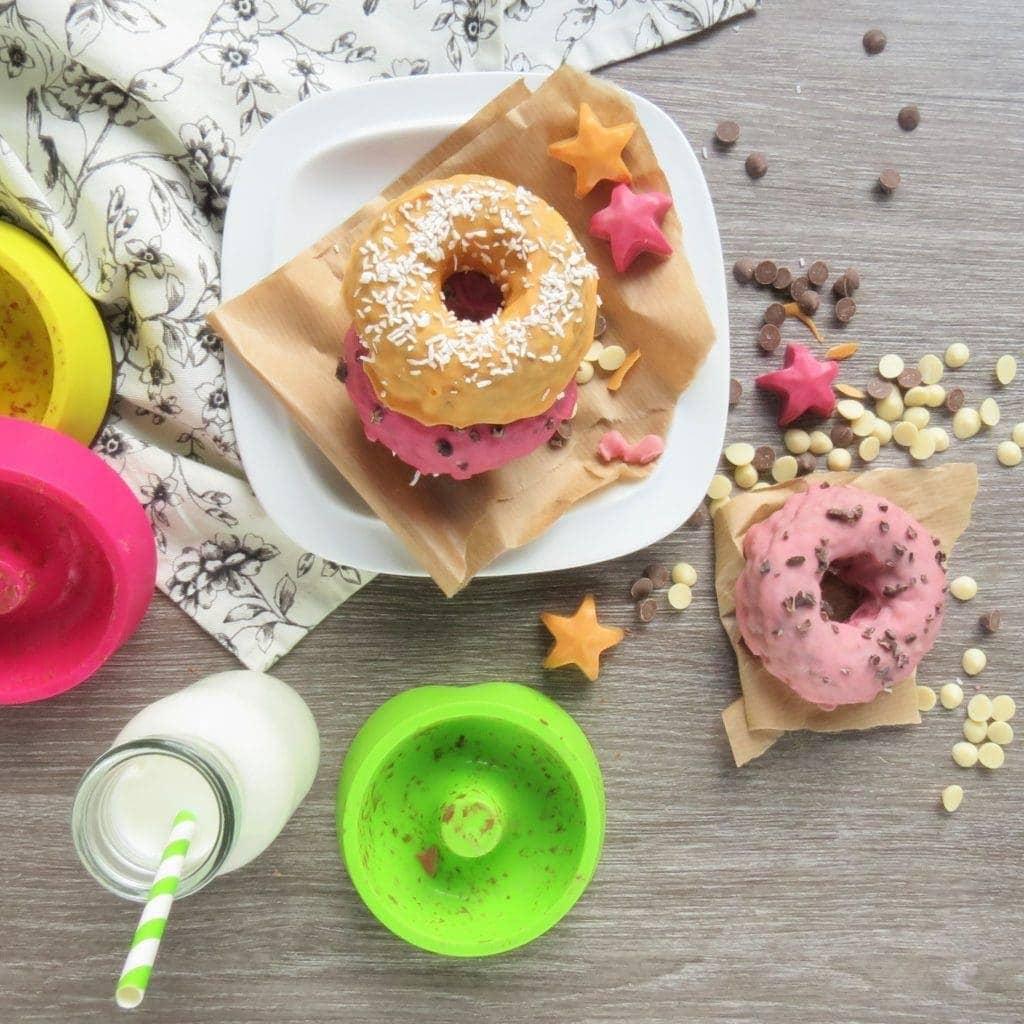 Chocolate Rice Doughnuts vs Dounuts