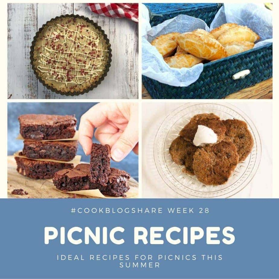 Picnic Recipes - a #CookBlogShare round up of free from recipe ideas