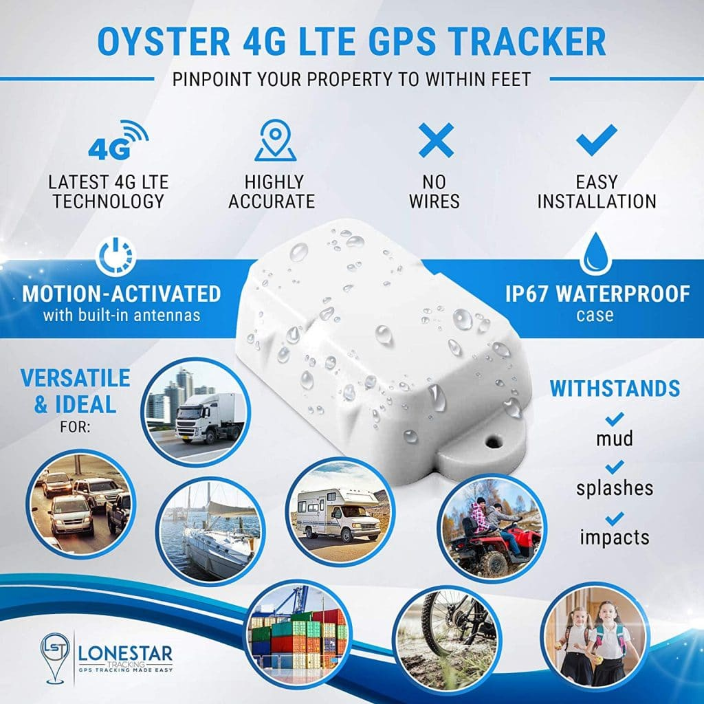 Waterproof 4G GPS Tracker