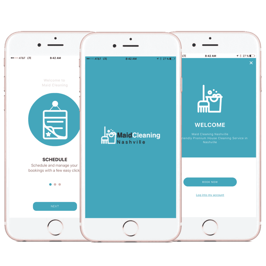 ouse Cleaning Nashville App