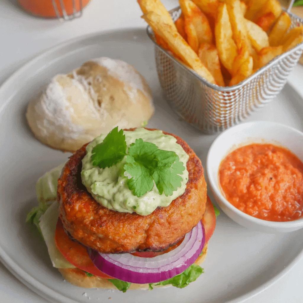 nandos chicken burger
