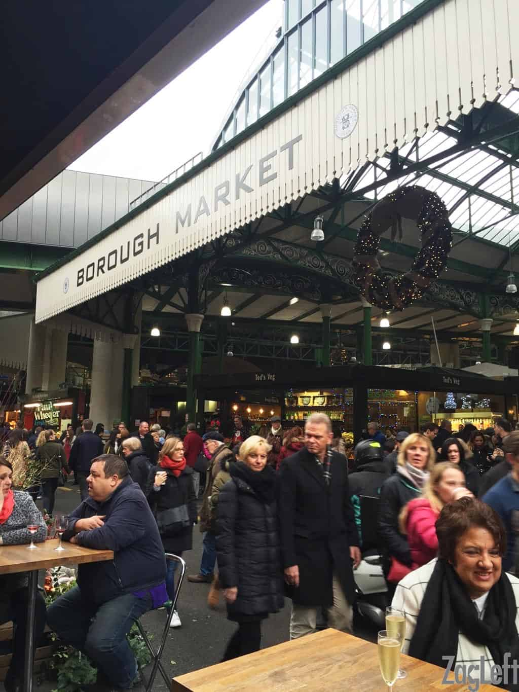 Our guide to visiting and exploring the best London markets. From Borough Market to Greenwich Market we're showing you our favorites. The London markets are fun places to shop for food, drinks, clothes, antiques and other merchandise. There's something for everyone! | zagleft.com