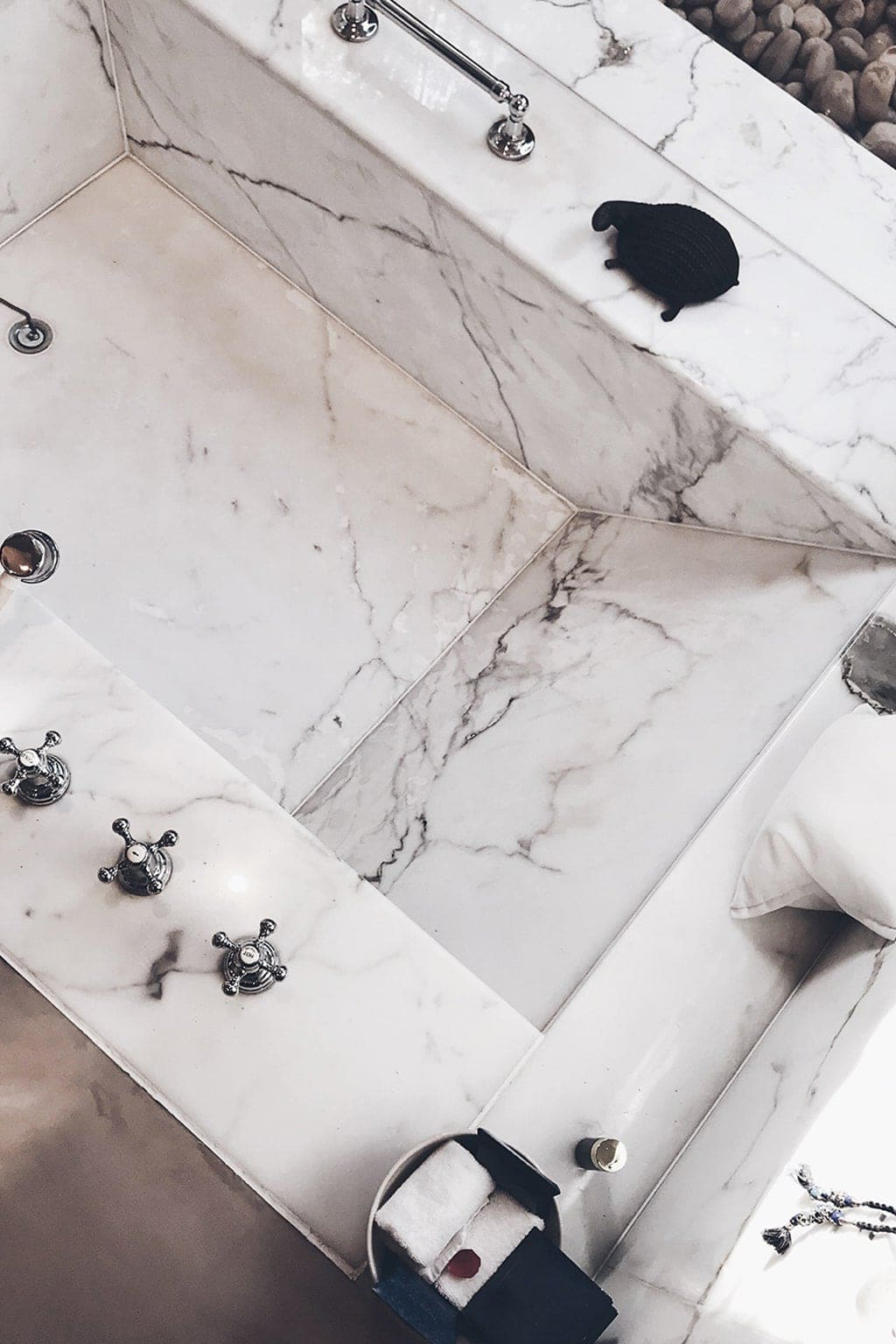 The Oberoi Rajvilās Marble Sunken Bath