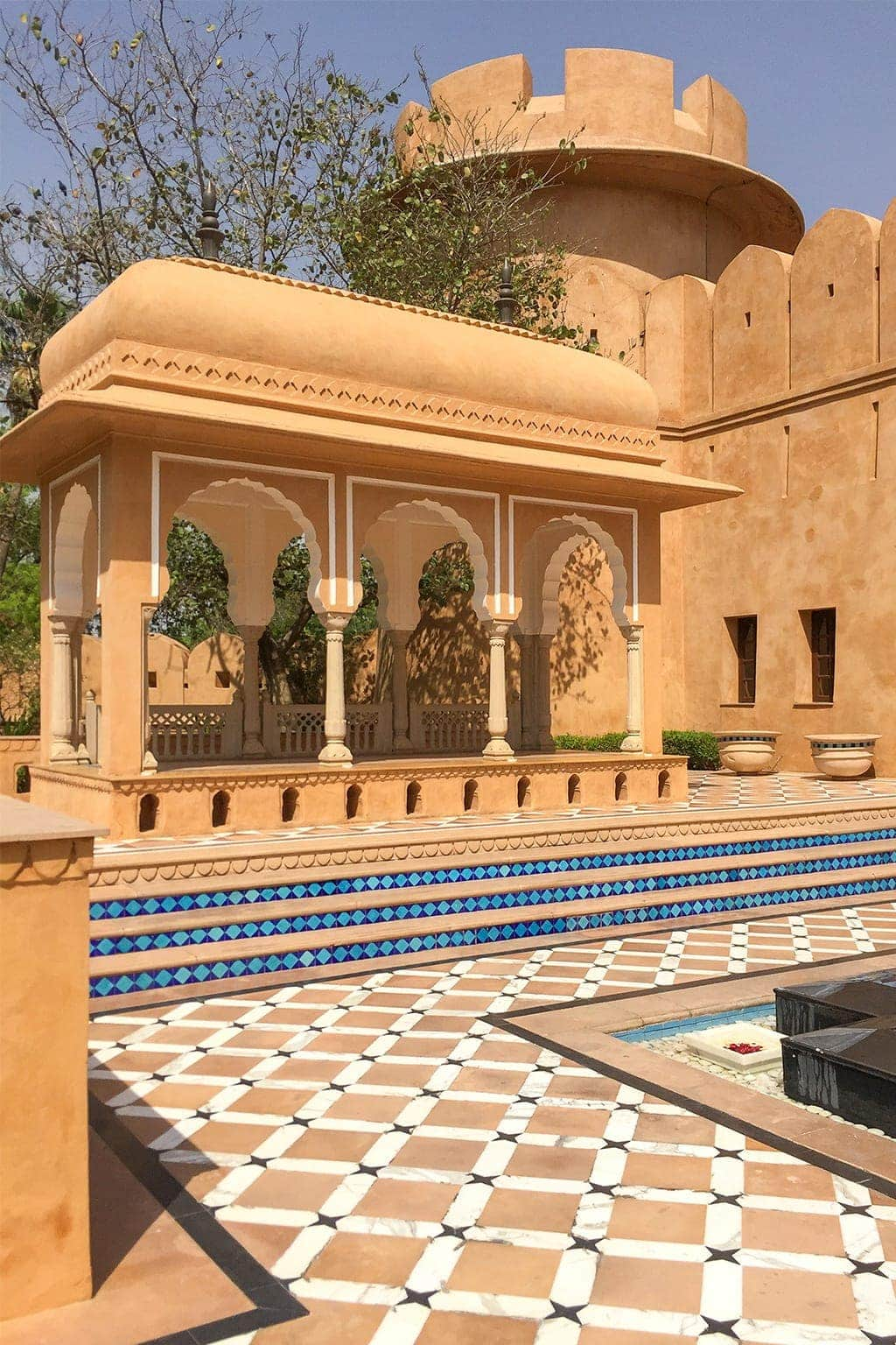 The Oberoi Rajvilās in Jaipur Rajasthan