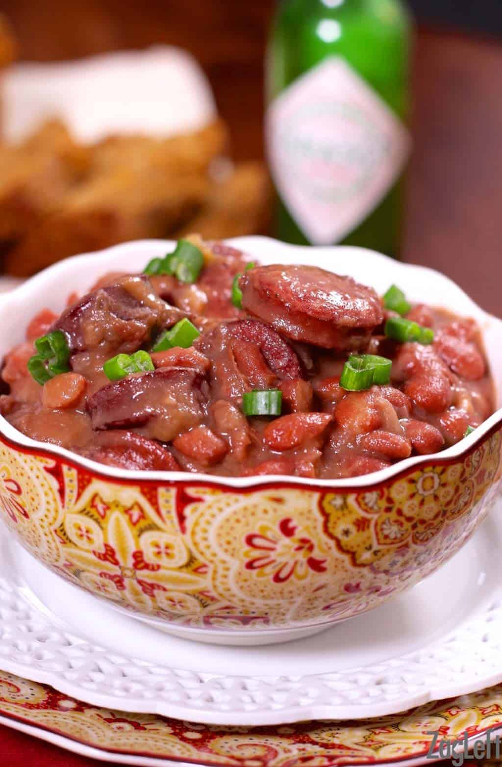 Classic New Orleans Recipes - Red Beans and Rice | www.zagleft.com