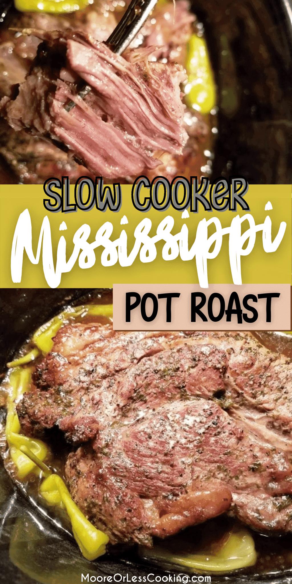 Slow Cooker Mississippi Pot Roast (2)