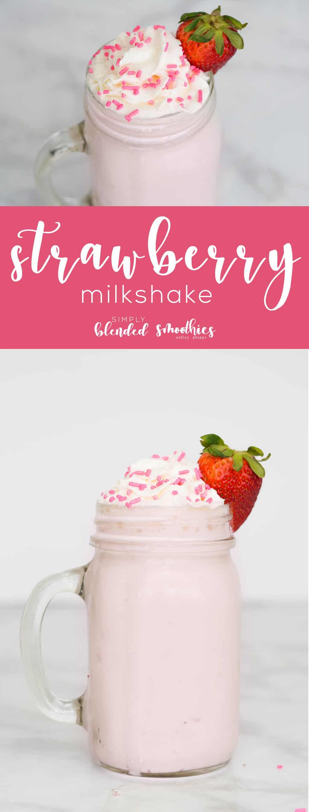 The Best Strawberry Shake Recipe