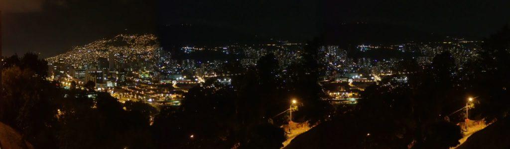 A view of Cerro Nutibara,