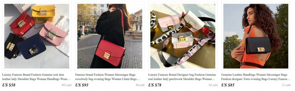 AliExpress Cheap Designer Women Luxury Handbags Replica Copy Purse Fashionbags 5 Furla Bag