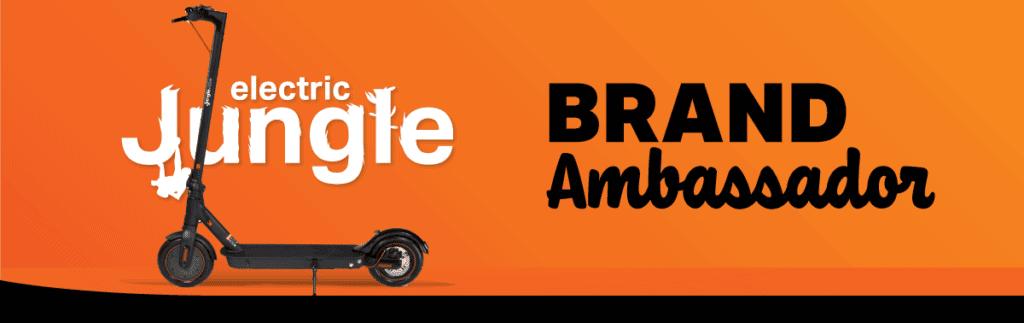 Become an Electric Jungle brand ambassador