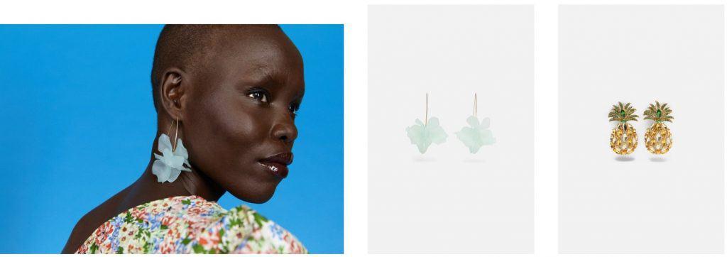 AliExpress Women Fashion Topshop Zara replica Accessories Earrings 1