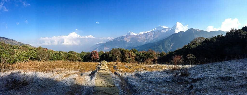 Views from the annapurna circuit, Nepal