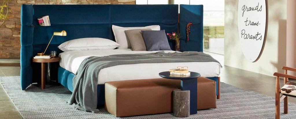 Cassina L60 Bio-mbo Bed by Patricia Urquiola | Cassina